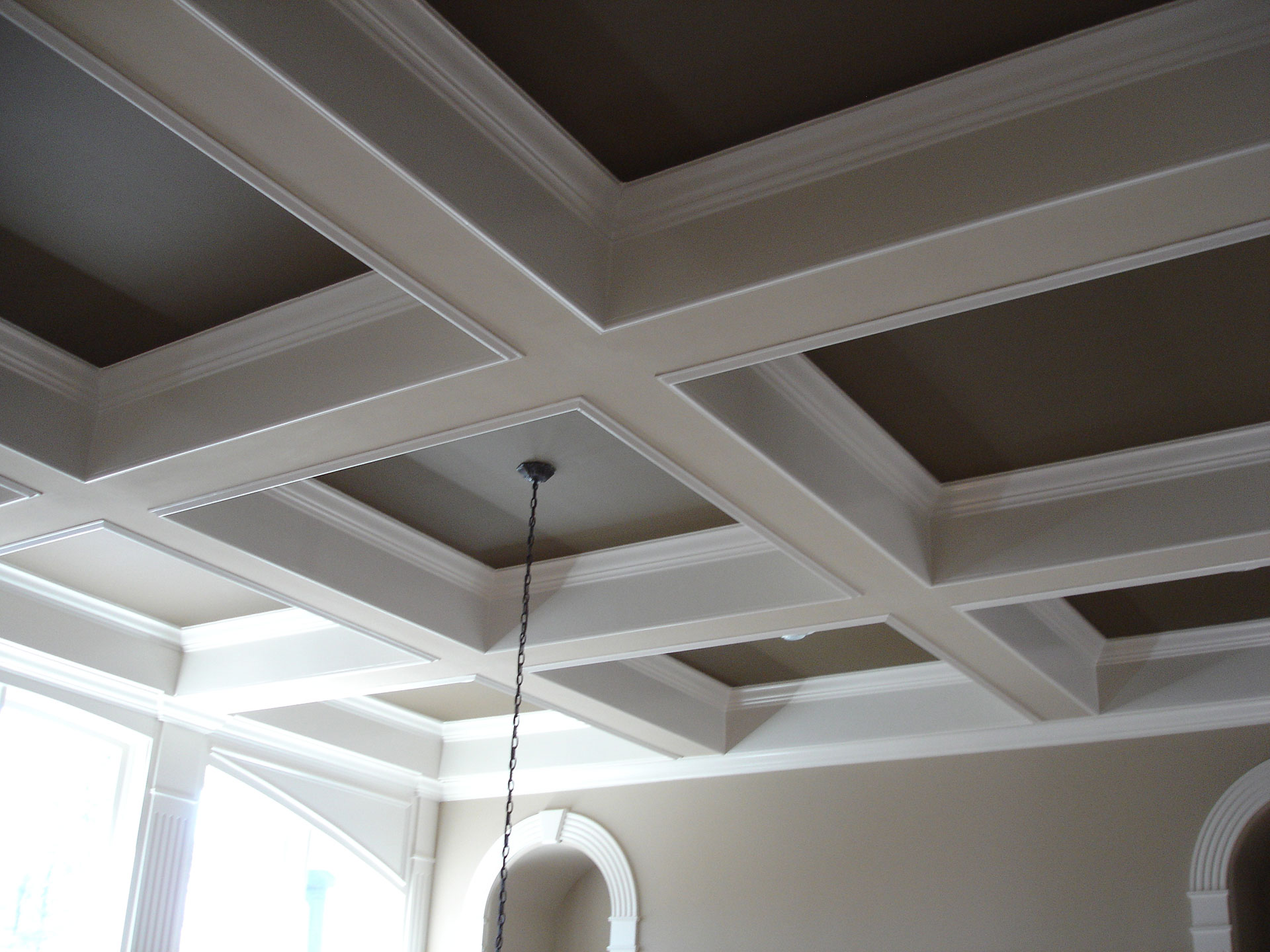 Coffered Ceilings And Beams Nordberg Construction
